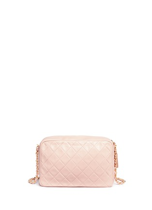 Back View - Click To Enlarge - Vintage Chanel - Quilted leather camera bag