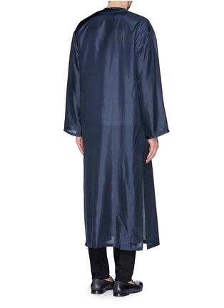 Back View - Click To Enlarge - Dries Van Noten - 'Vellano' dancer print silk robe