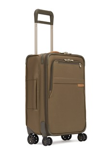 Briggs & Riley Baseline carry-on expandable spinner suitcase