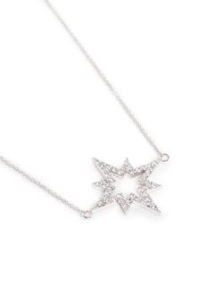 Khai Khai 'Starsplosion' diamond pendant necklace