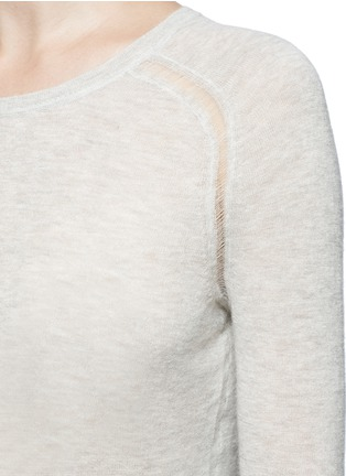 Detail View - Click To Enlarge - Isabel Marant Étoile - 'Foty' alpaca-Merino wool sweater