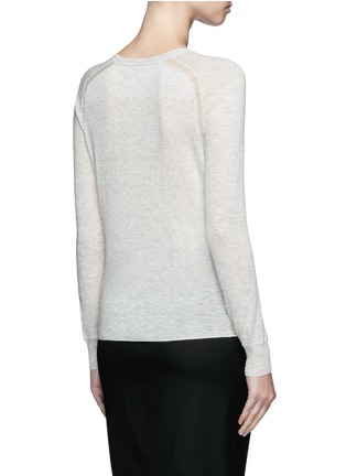 Back View - Click To Enlarge - Isabel Marant Étoile - 'Foty' alpaca-Merino wool sweater