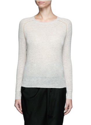Main View - Click To Enlarge - Isabel Marant Étoile - 'Foty' alpaca-Merino wool sweater