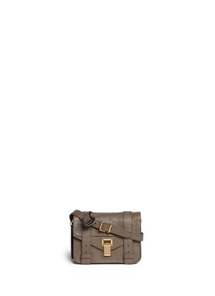 Main View - Click To Enlarge - Proenza Schouler - 'PS1' mini leather crossbody satchel