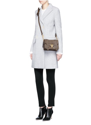 Figure View - Click To Enlarge - Proenza Schouler - 'PS1' mini leather crossbody satchel