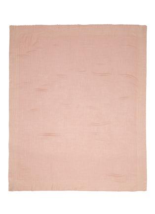Main View - Click To Enlarge - Faliero Sarti - Metallic border cashmere-silk blend scarf