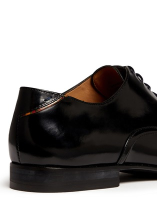 Detail View - Click To Enlarge - Paul Smith - 'Starling' spazzolato leather Oxfords