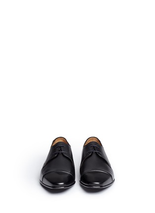 Front View - Click To Enlarge - Paul Smith - 'Robin' leather Derbies