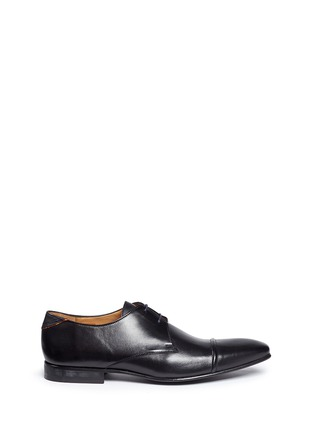 Main View - Click To Enlarge - Paul Smith - 'Robin' leather Derbies