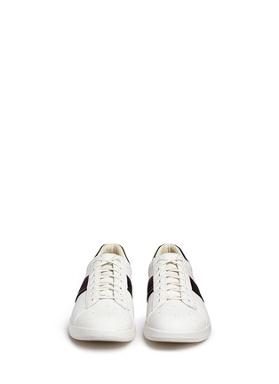 Front View - Click To Enlarge - PAUL SMITH - 'Rabbit' brogue leather sneakers