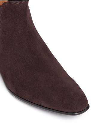 Detail View - Click To Enlarge - Paul Smith - 'Falconer' suede Chelsea boots