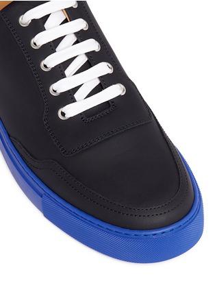 Detail View - Click To Enlarge - Harrys Of London - 'Mr Jones 2' contrast sole sneakers