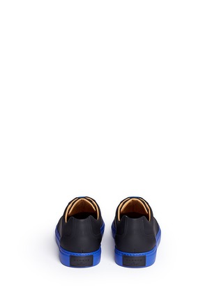 Back View - Click To Enlarge - Harrys Of London - 'Mr Jones 2' contrast sole sneakers