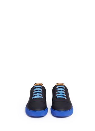 Front View - Click To Enlarge - Harrys Of London - 'Mr Jones 2' contrast sole sneakers