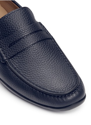 Detail View - Click To Enlarge - Harrys Of London - 'Basel 4' leather penny loafers