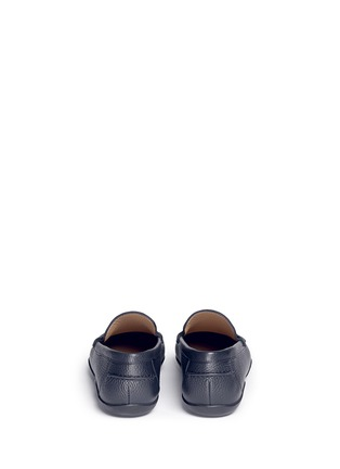 Back View - Click To Enlarge - Harrys Of London - 'Basel 4' leather penny loafers