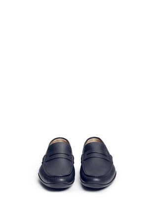 Front View - Click To Enlarge - Harrys Of London - 'Basel 4' leather penny loafers
