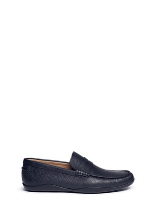 Main View - Click To Enlarge - Harrys Of London - 'Basel 4' leather penny loafers