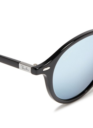 Detail View - Click To Enlarge - Ray-Ban - 'RB4237 Liteforce' mirror sunglasses