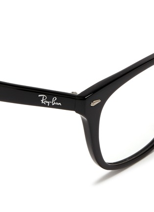 Detail View - Click To Enlarge - Ray-Ban - 'RX5305' square acetate optical glasses
