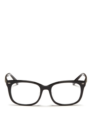 Main View - Click To Enlarge - Ray-Ban - 'RX5305' square acetate optical glasses