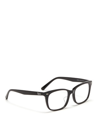 Figure View - Click To Enlarge - Ray-Ban - 'RX5305' square acetate optical glasses