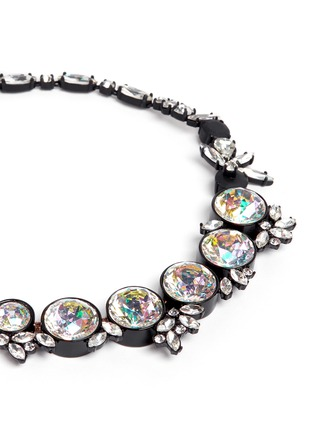 Detail View - Click To Enlarge - J.CREW - Iridescent crystal necklace