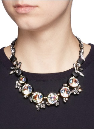 Figure View - Click To Enlarge - J.CREW - Iridescent crystal necklace