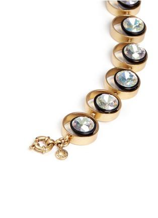 Detail View - Click To Enlarge - J.CREW - Circular crystal bracelet