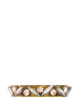 Main View - Click To Enlarge - J.CREW - Lucite-and-crystal bracelet