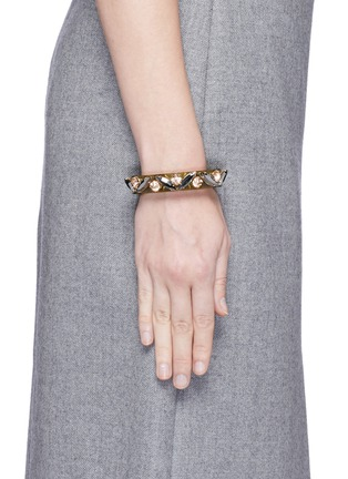 Figure View - Click To Enlarge - J.CREW - Lucite-and-crystal bracelet