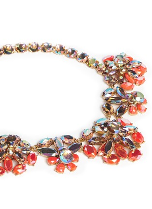 Detail View - Click To Enlarge - J.CREW - Rainbow crystal necklace