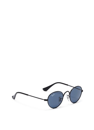 Figure View - Click To Enlarge - Ray-Ban - Round metal junior sunglasses