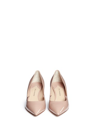 Figure View - Click To Enlarge - Paul Andrew - 'Helena' wavy patent leather pumps