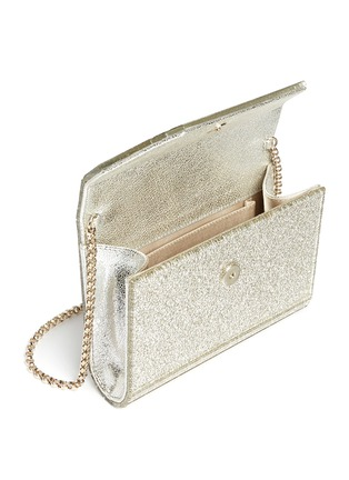 Detail View - Click To Enlarge - Jimmy Choo - Candy' glitter acrylic clutch