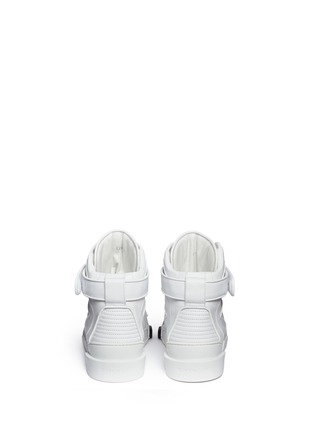 Back View - Click To Enlarge - Givenchy - 'Tyson' calf leather sneakers