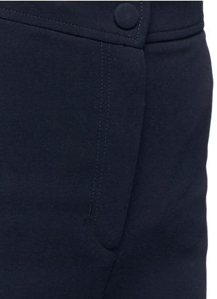 Detail View - Click To Enlarge - Helmut Lang - Cotton wide leg pants