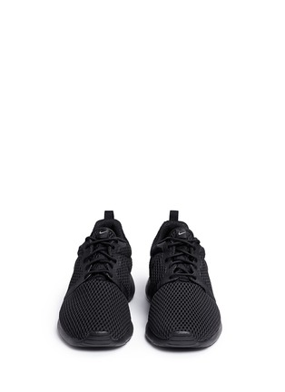 Front View - Click To Enlarge - Nike - 'Roshe One Hyper Breathe' mesh sneakers