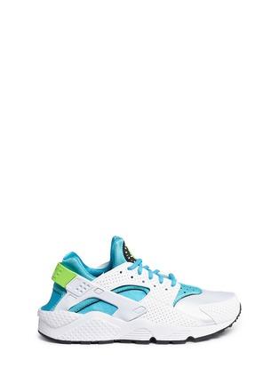 Main View - Click To Enlarge - Nike - 'Air Huarache Run' colourblock neoprene sneakers