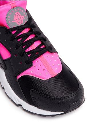 Detail View - Click To Enlarge - Nike - 'Air Huarache Run' colourblock neoprene sneakers