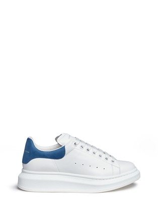 Main View - Click To Enlarge - ALEXANDER MCQUEEN - Chunky outsole leather sneakers