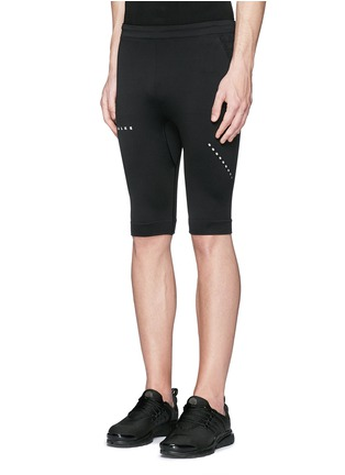 Front View - Click To Enlarge - Falke Sports - 'Comfort' running short tights