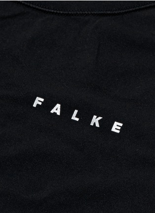 Detail View - Click To Enlarge - FALKE - 'Athletic' short sleeve running shirt