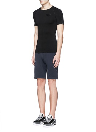 Figure View - Click To Enlarge - FALKE - 'Athletic' short sleeve running shirt
