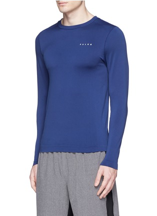 Front View - Click To Enlarge - Falke Sports - 'Competition' long sleeve running shirt