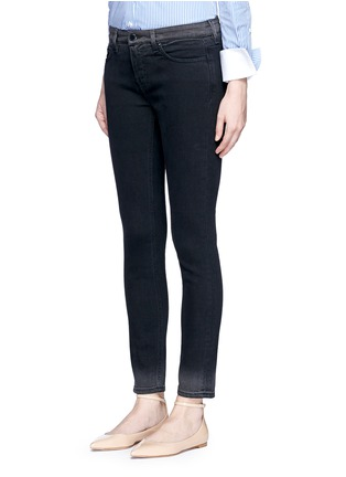 Front View - Click To Enlarge - VICTORIA, VICTORIA BECKHAM - 'Ankle Slim' dipped fade hem jeans