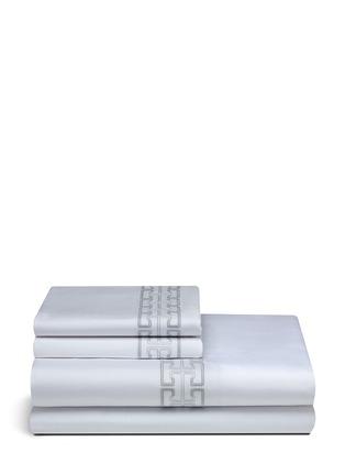 Main View - Click To Enlarge - Frette - Labyrinth Ricamo king size duvet set