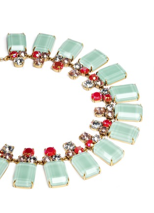Detail View - Click To Enlarge - J.CREW - Frosted lucite necklace