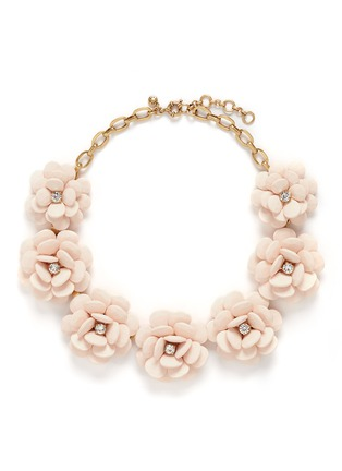 Main View - Click To Enlarge - J.CREW - Beaded rose necklace
