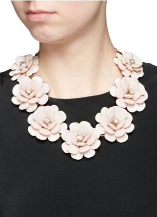 Figure View - Click To Enlarge - J.CREW - Beaded rose necklace